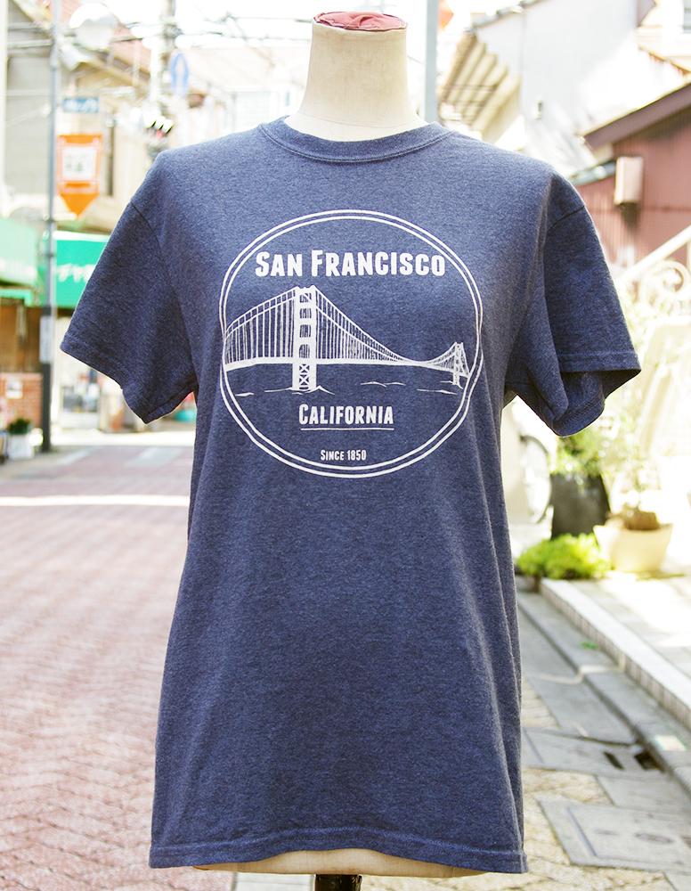 "【USED】 T-shirt ""SAN FRANCISCO"" Mens/S-size"
