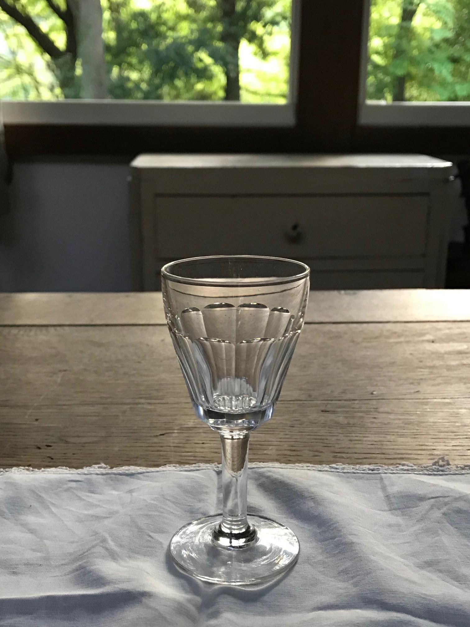 1940年代 フランスアンティーク グラス F
