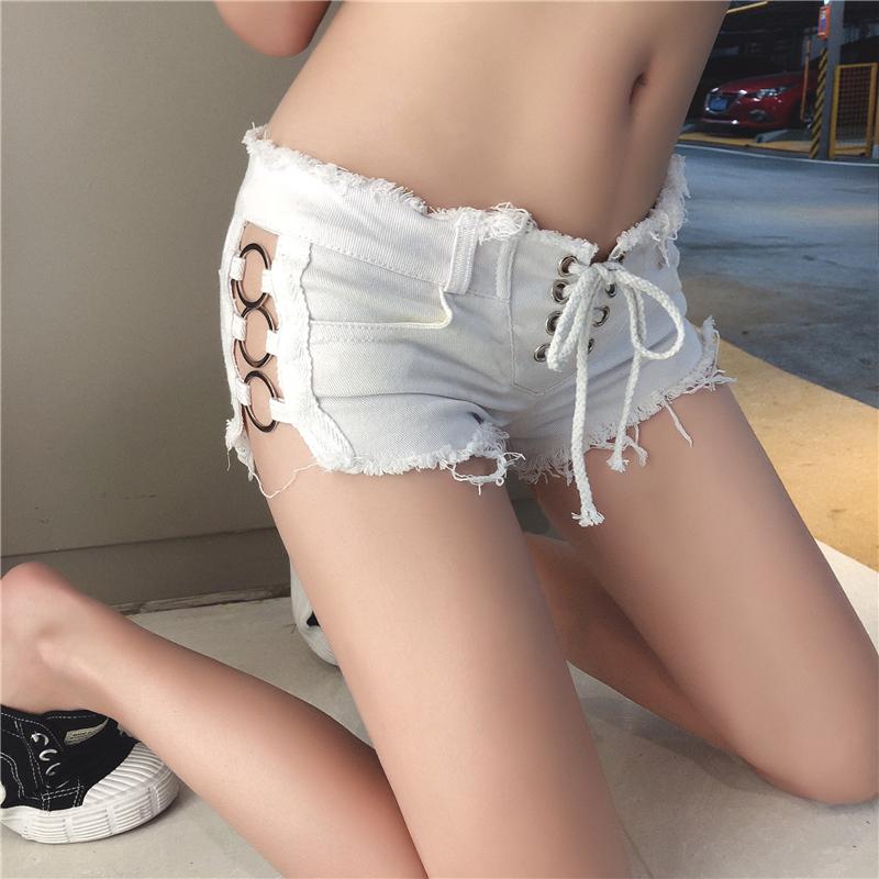 【bottoms】ファッション透かし彫り合わせやすいショートパンツ21881077