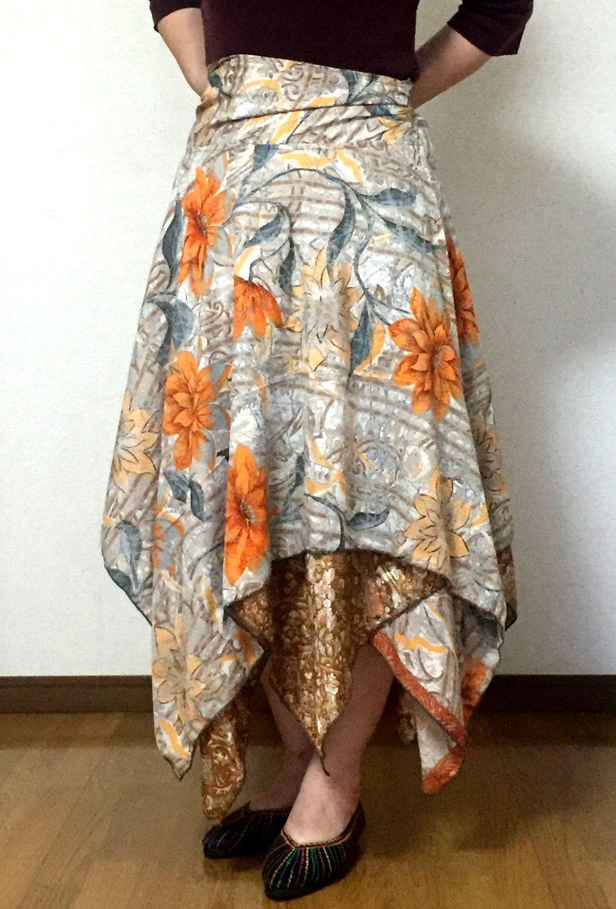 dsz-028 シルクサリーギザスカート