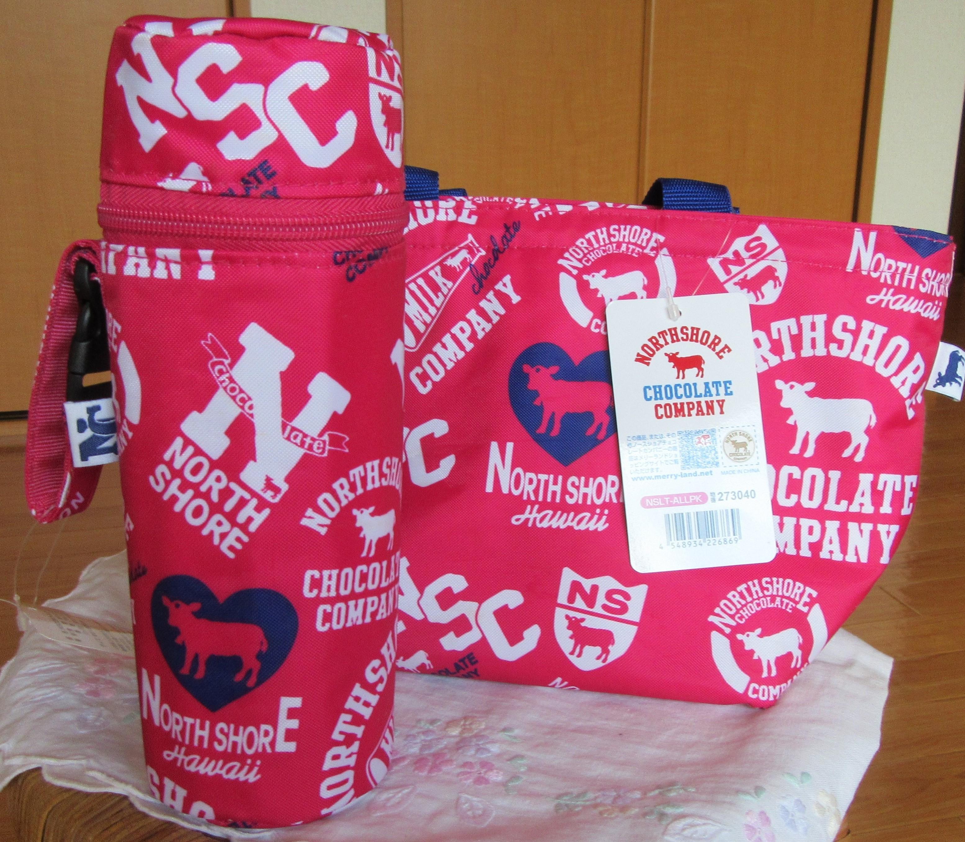 NSCC ノースショアチョコレートカンパニー ランチトートバッグ&ボトルカバーセット 新品