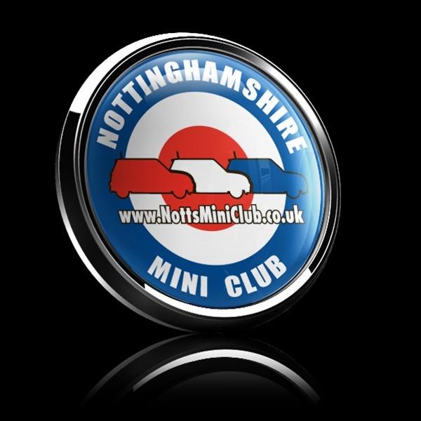 ゴーバッジ(ドーム)(CD0100 - CLUB Nottinghamshire) - 画像2