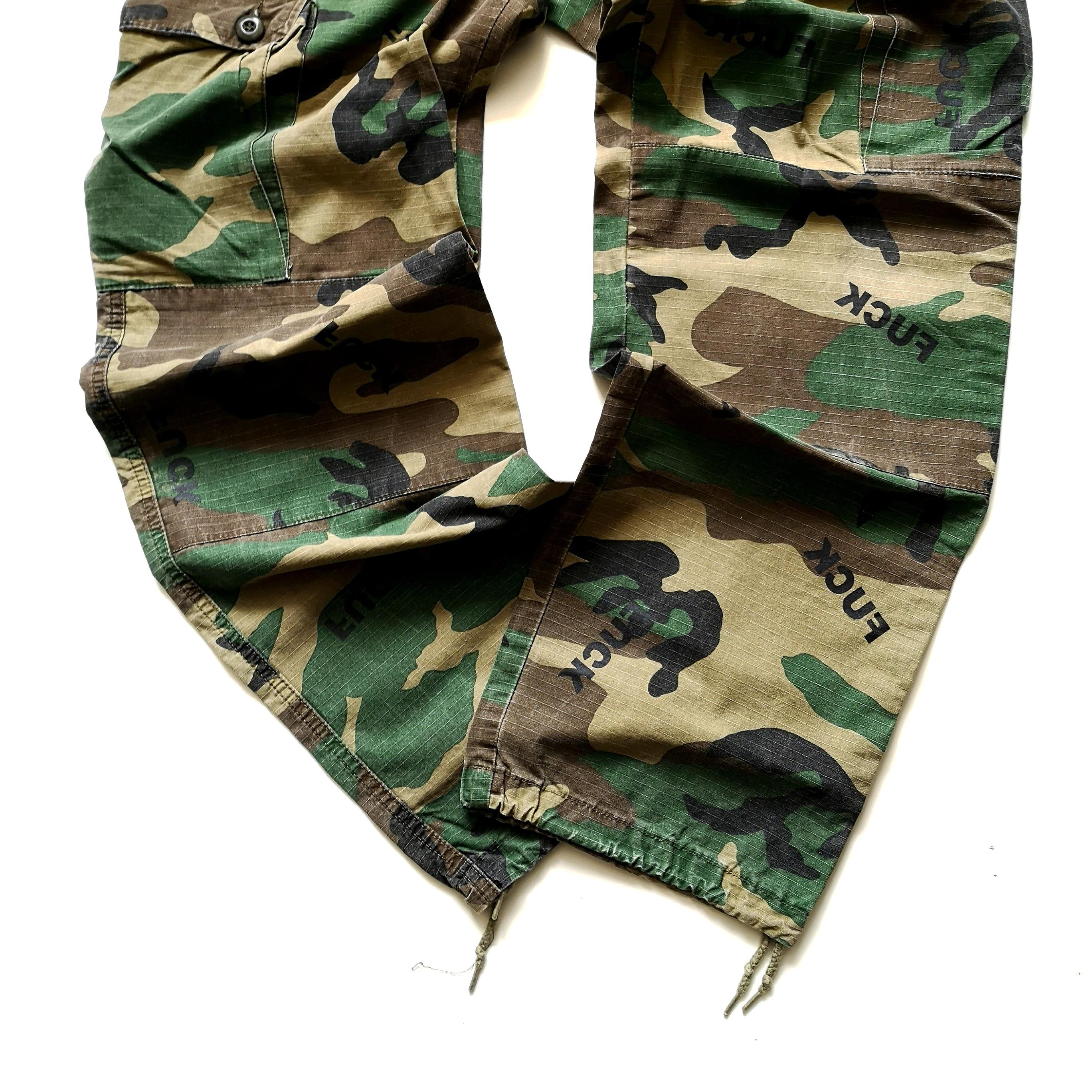 IIIII KCUF ARMY PANTS