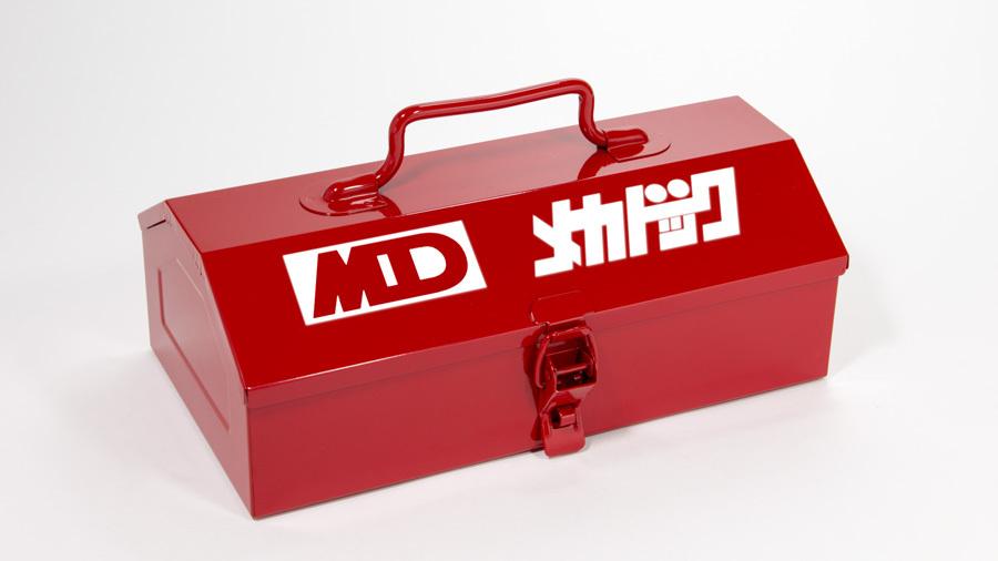 よろしくメカドック 山型ツールボックス RED / グルーヴガレージ