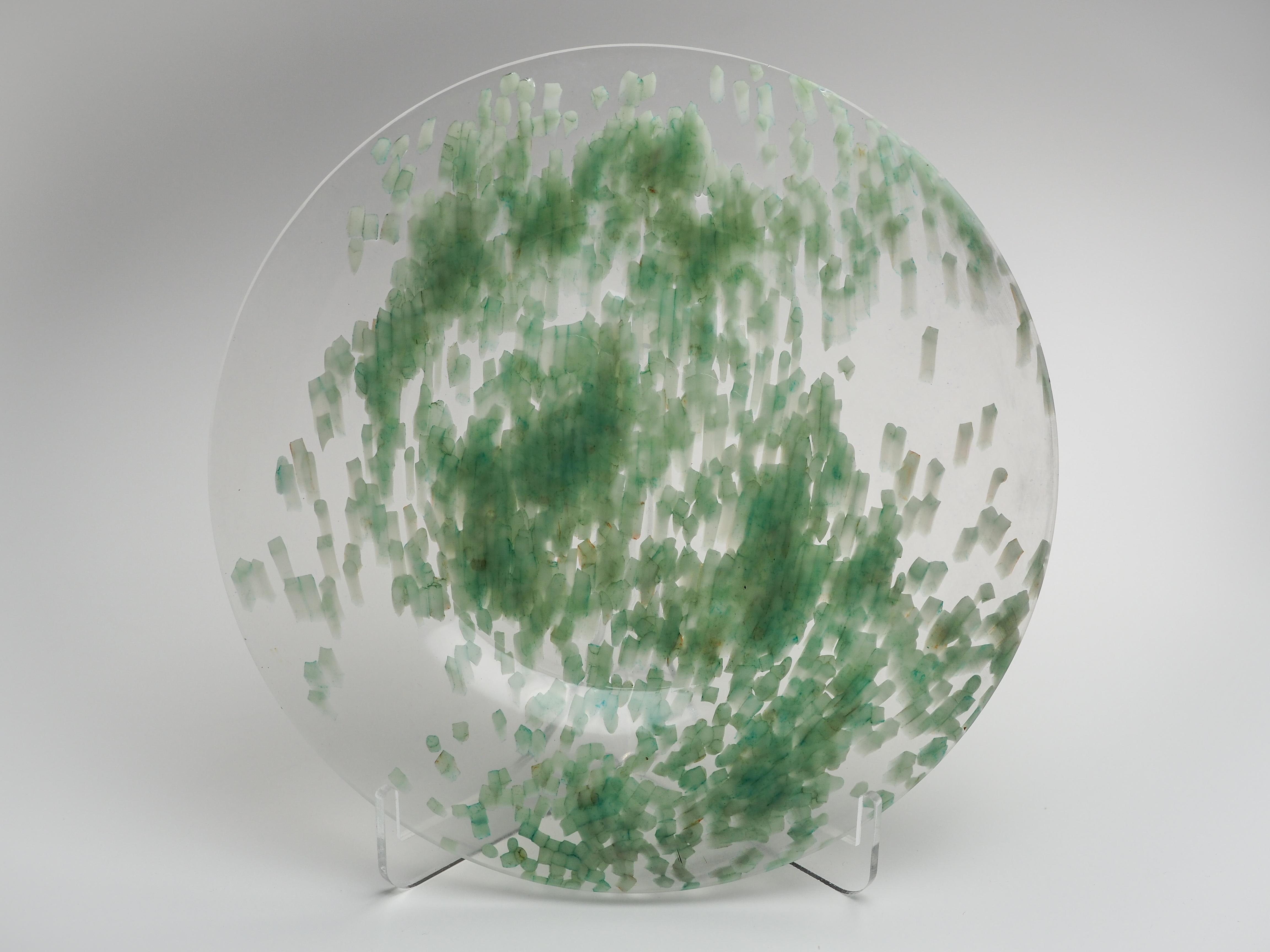 平皿-MIX(透明×緑)fp-mix-6