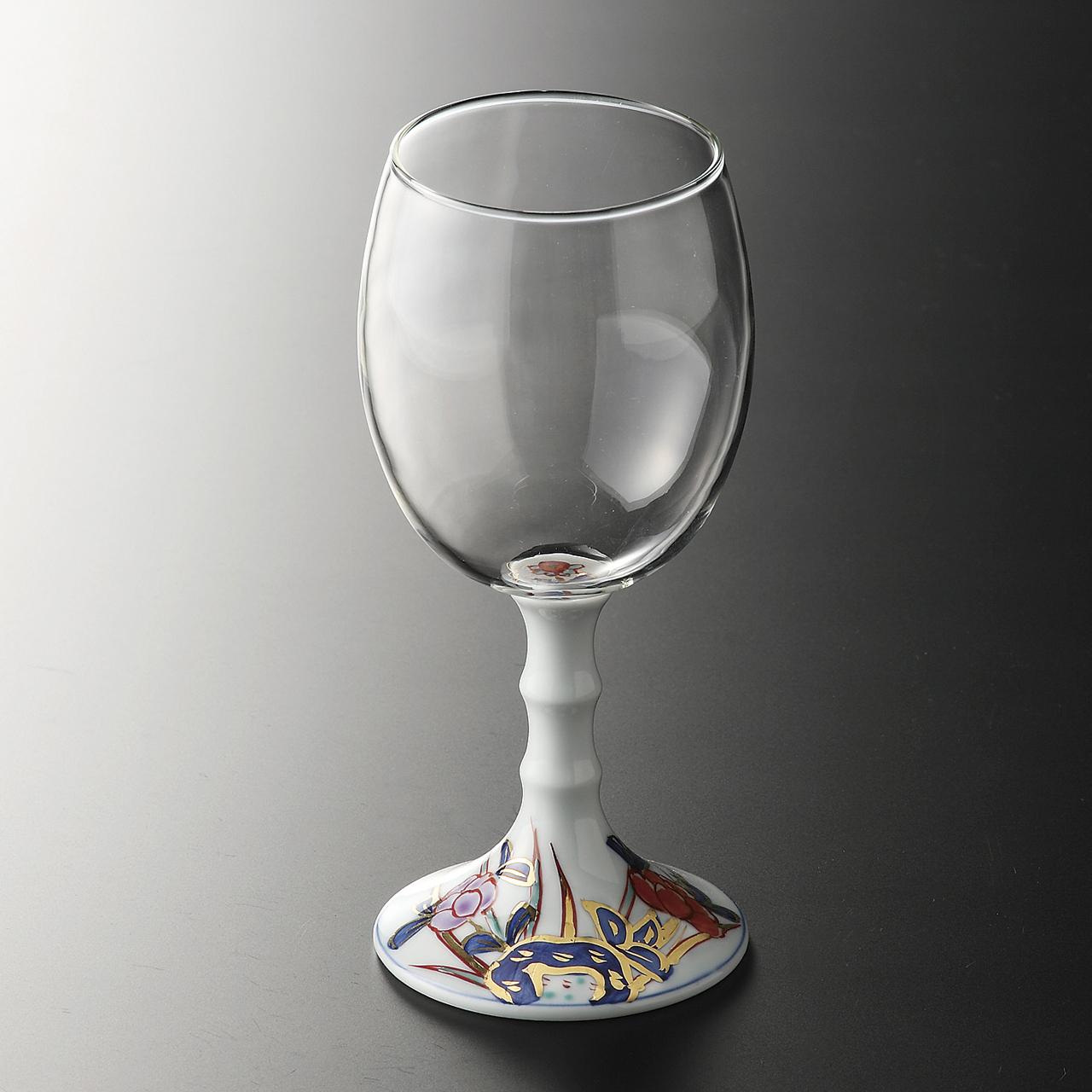 ワイングラス (古伊万里風) 20-205