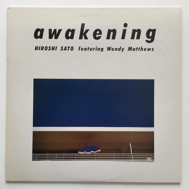 ●HIROSHI SATO featuring WENDY MATTHEWS / AWAKENING