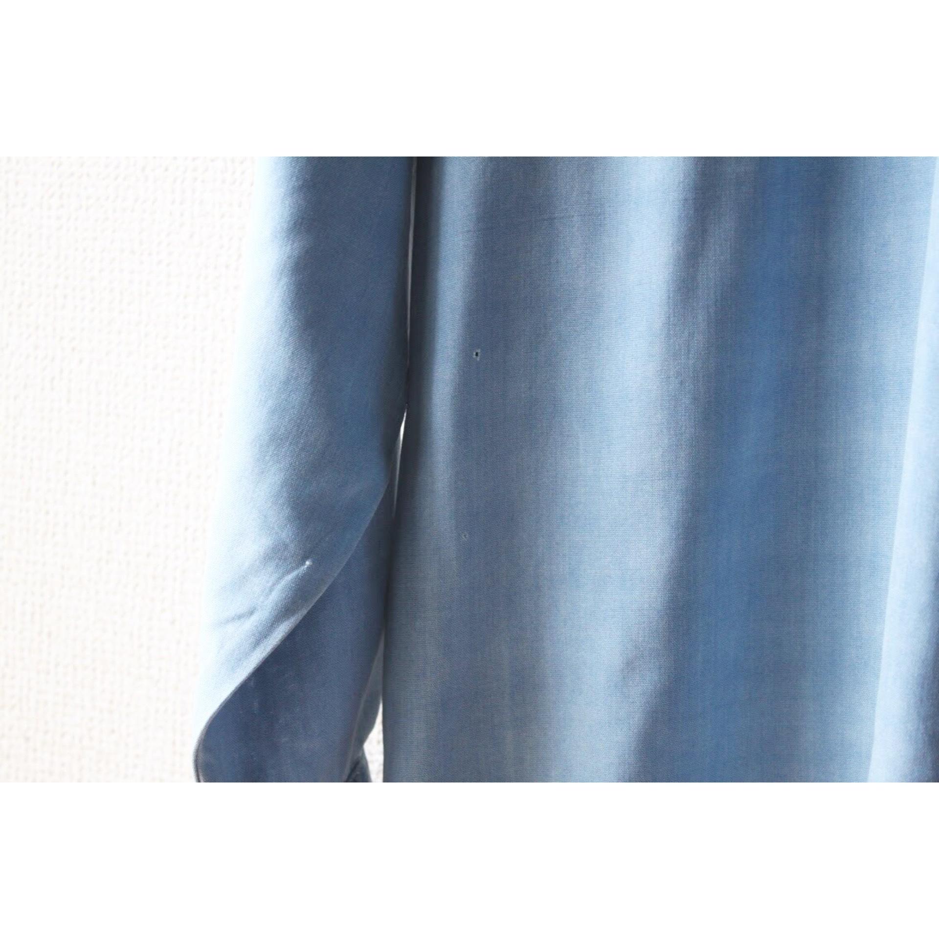 Vintage silk skyblue shirt