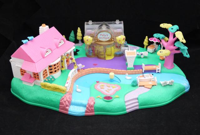 ポーリーポケット ポーリーが動く魔法の街 1996年 ほぼ完品