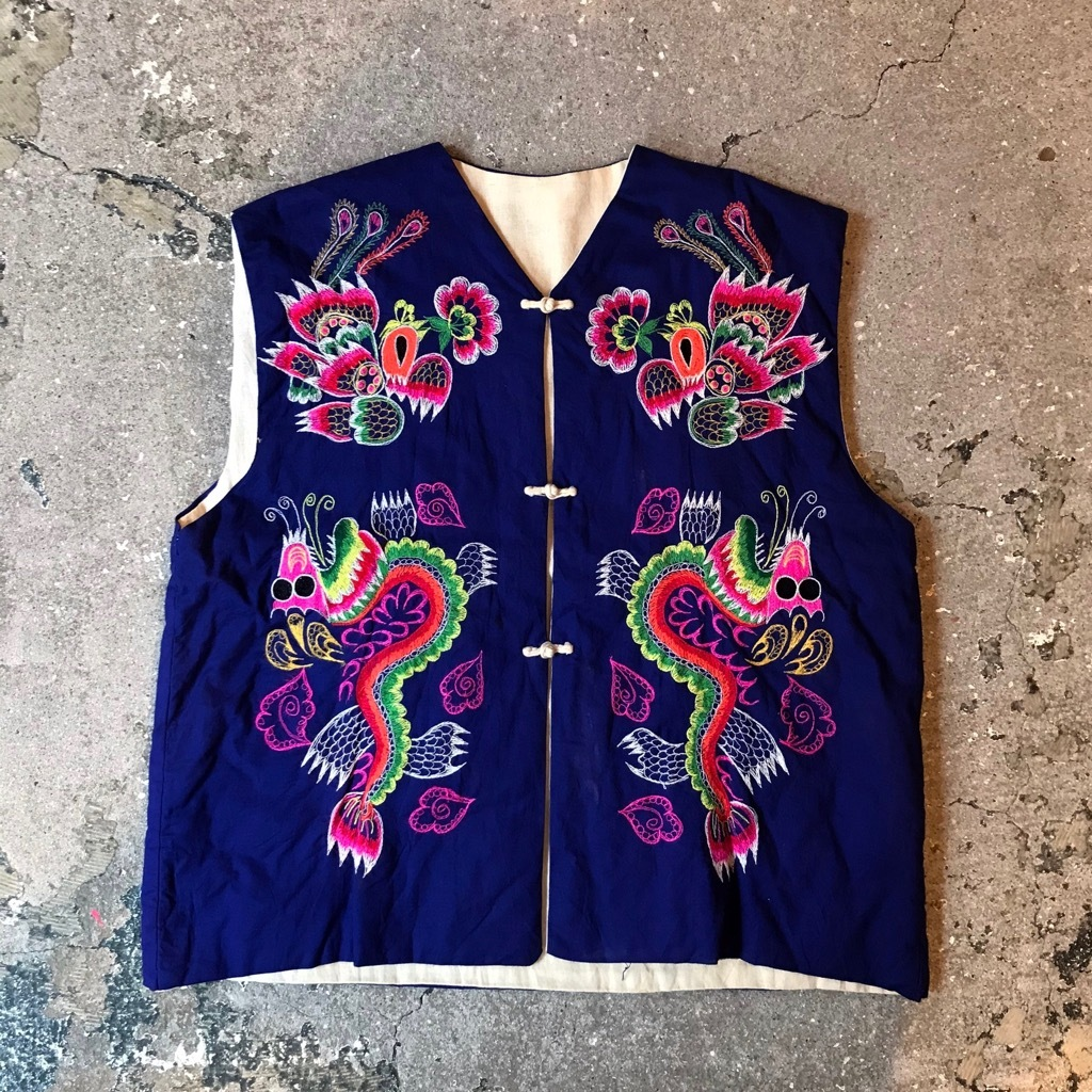 China embroidery vest