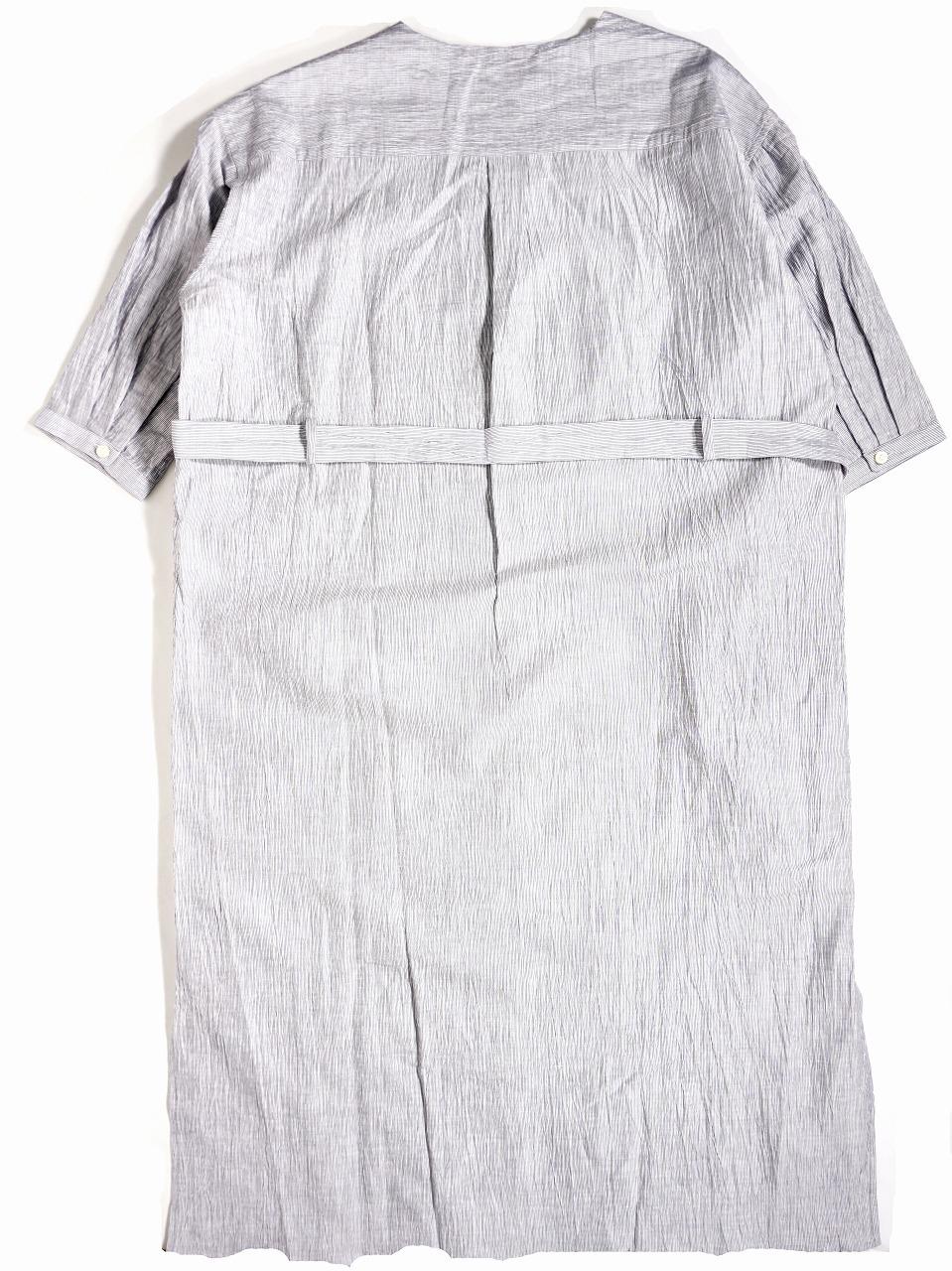 No Collar Long Shirt