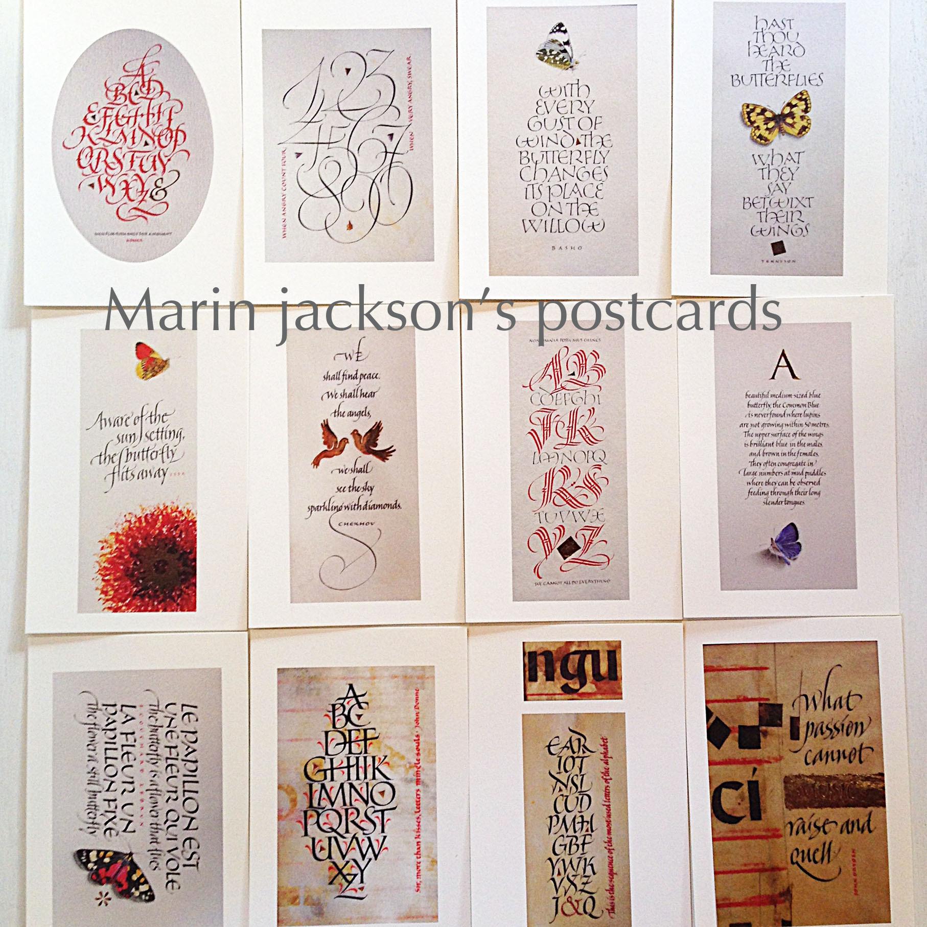 Martin Jackson's postcards(ポストカード)