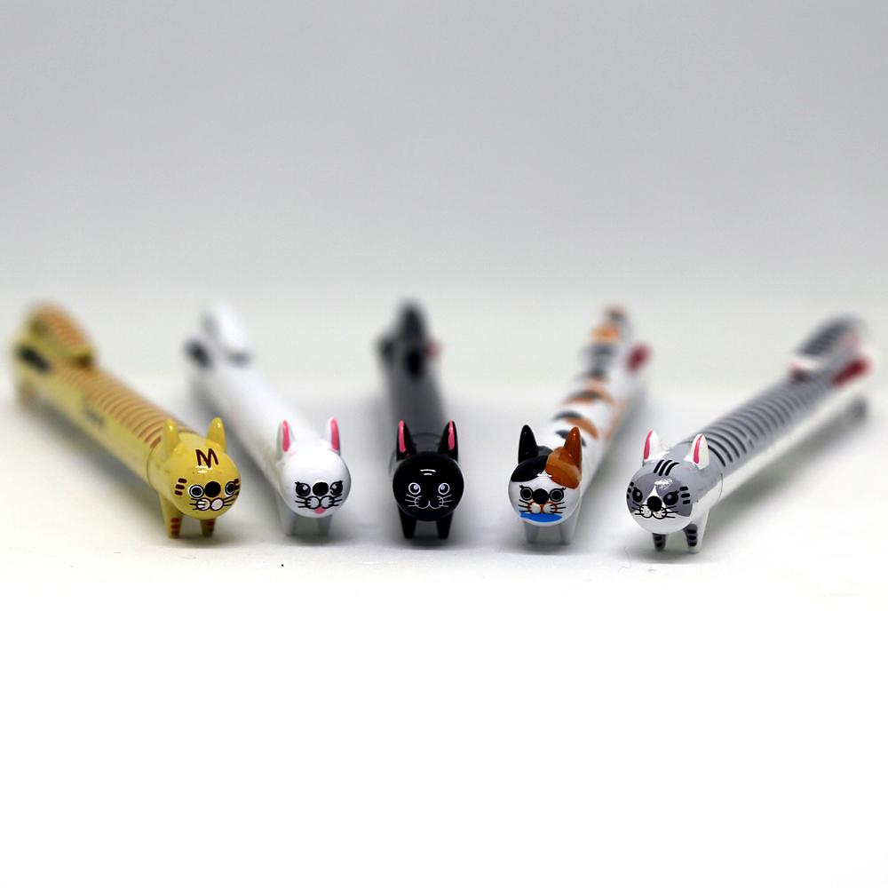 猫3色ボールペン(3色ねこペン)全5種類
