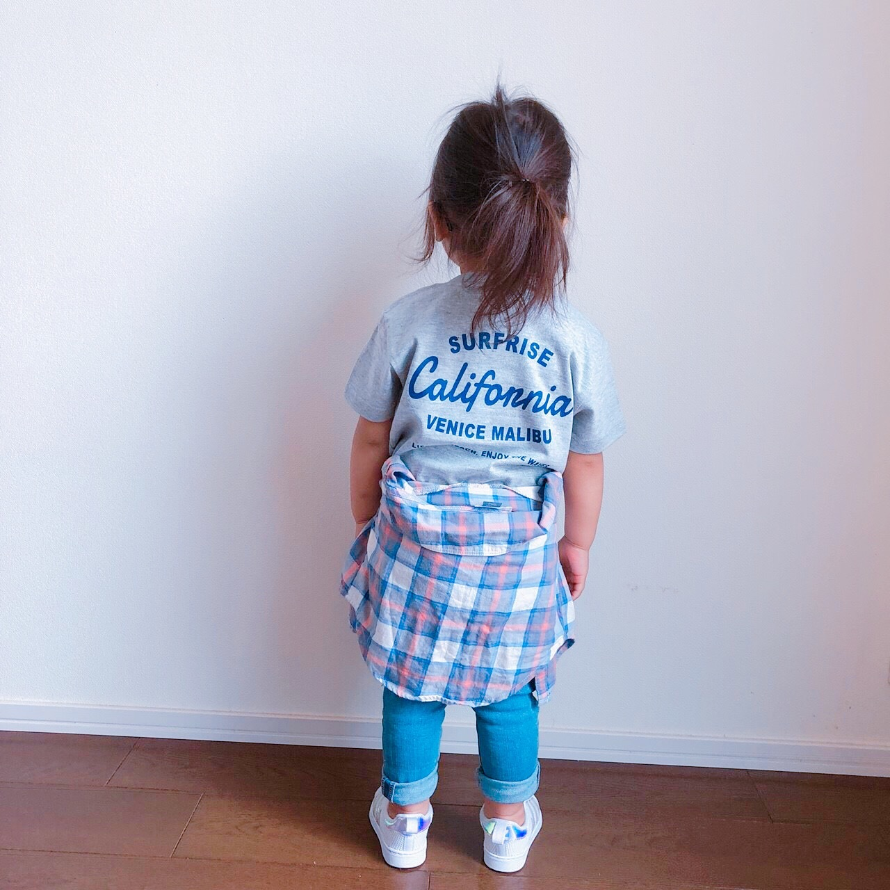 ★Kids★ LACA Tee - Gray