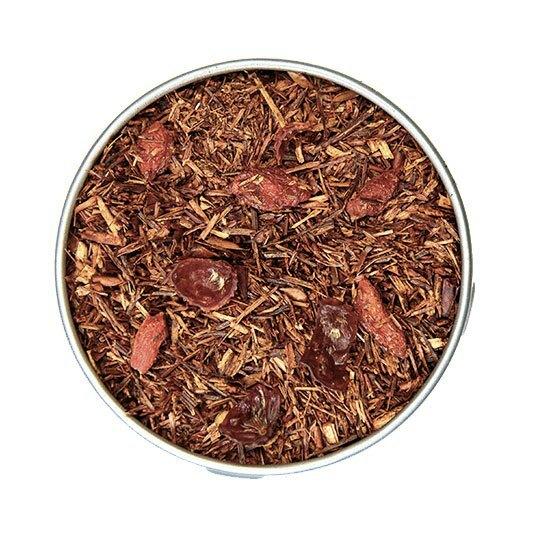Rooibos Rouge au Goji(ルイボスルージュゴジ)50gリーフ缶