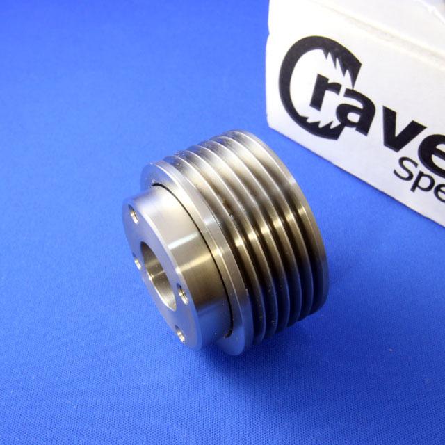 R53(R52クーパーS)用スーパーチャージャー15%小径プーリーキット - 画像4