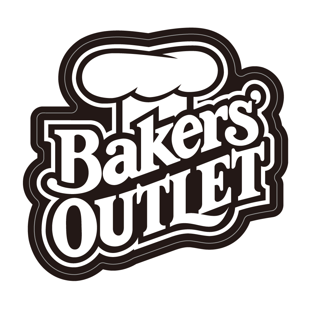 """304  Bakers' OUTLET  """"California Market Center"""" アメリカンステッカー スーツケース シール"""