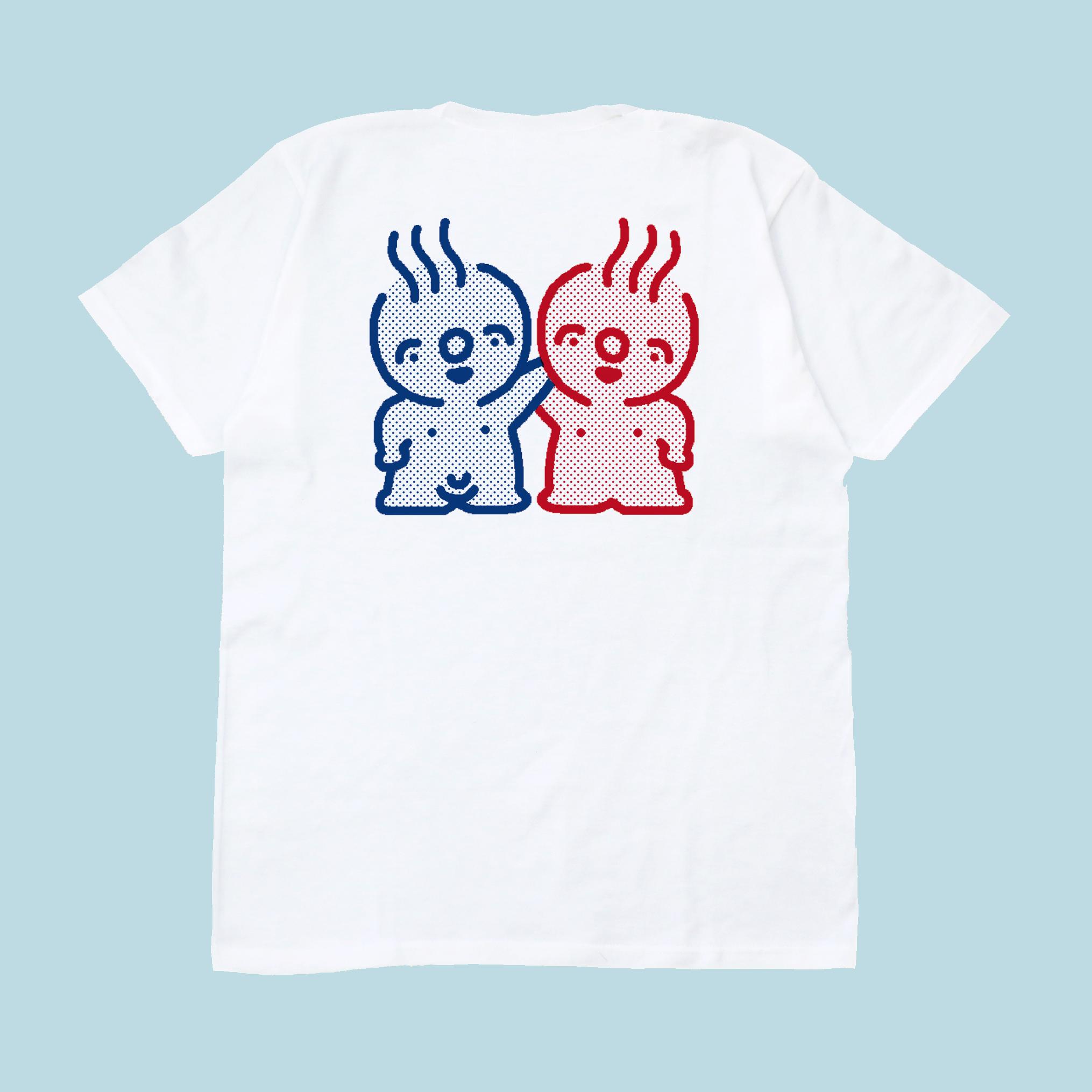 おふろくんおふろちゃん Tシャツ