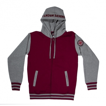 INDEPENDENT 【ITC Bold Zip Hooded 】