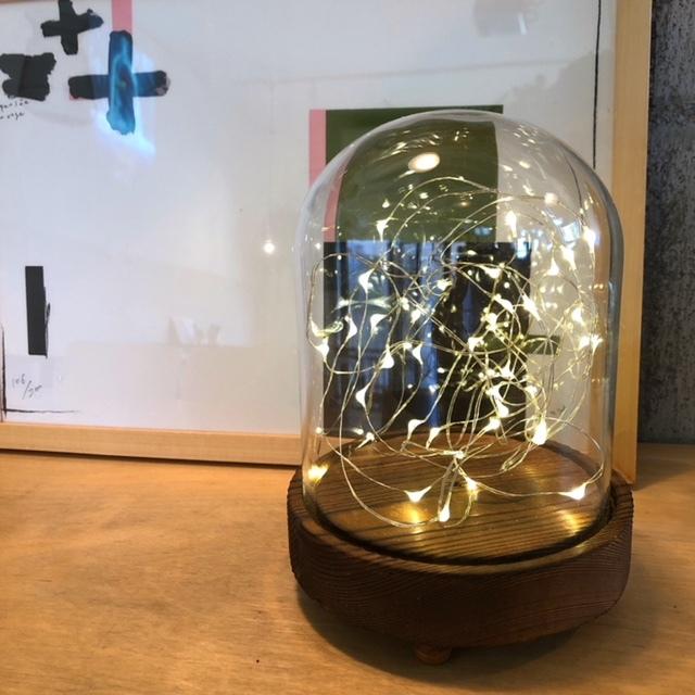 LEDガラスドームライト Short type