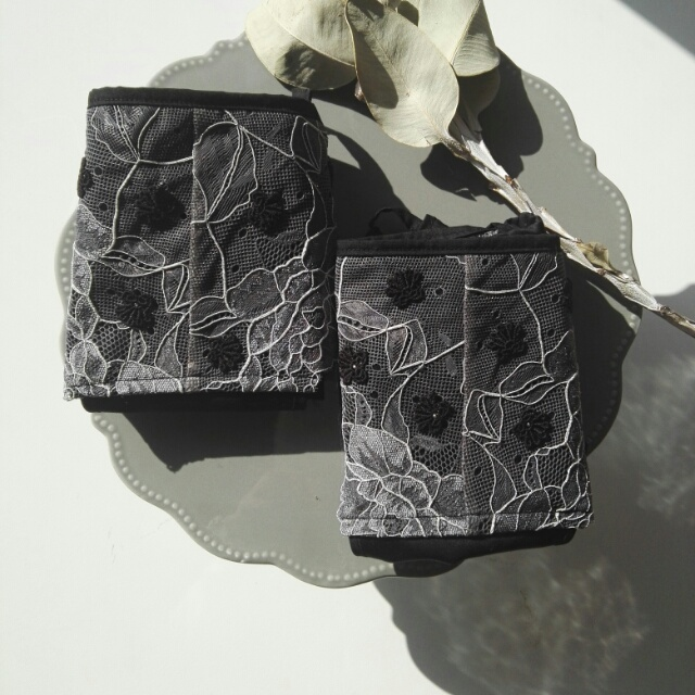 lingerie*gray lace panty ランジェリー