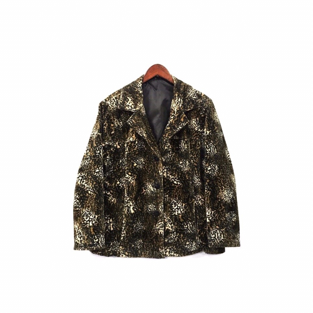 USED - Leopard Pail Jacket ¥15500+tax