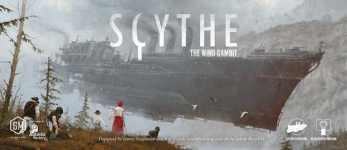Scythe: The Wind Gambit  和訳説明書付き
