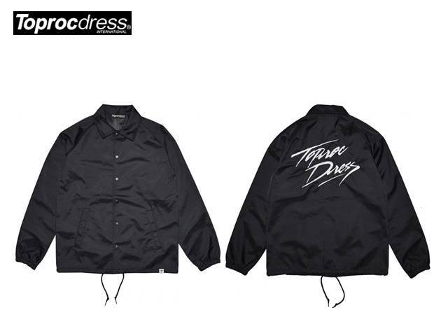 TOPROC DRESS|NOMAD Coach Jacket (BLACK)