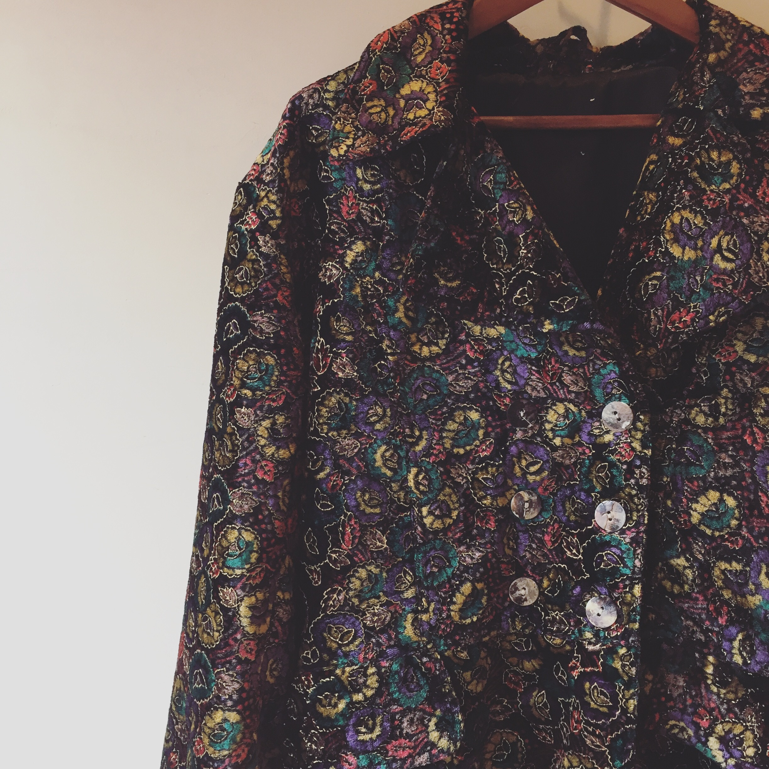 vintage pattern outer