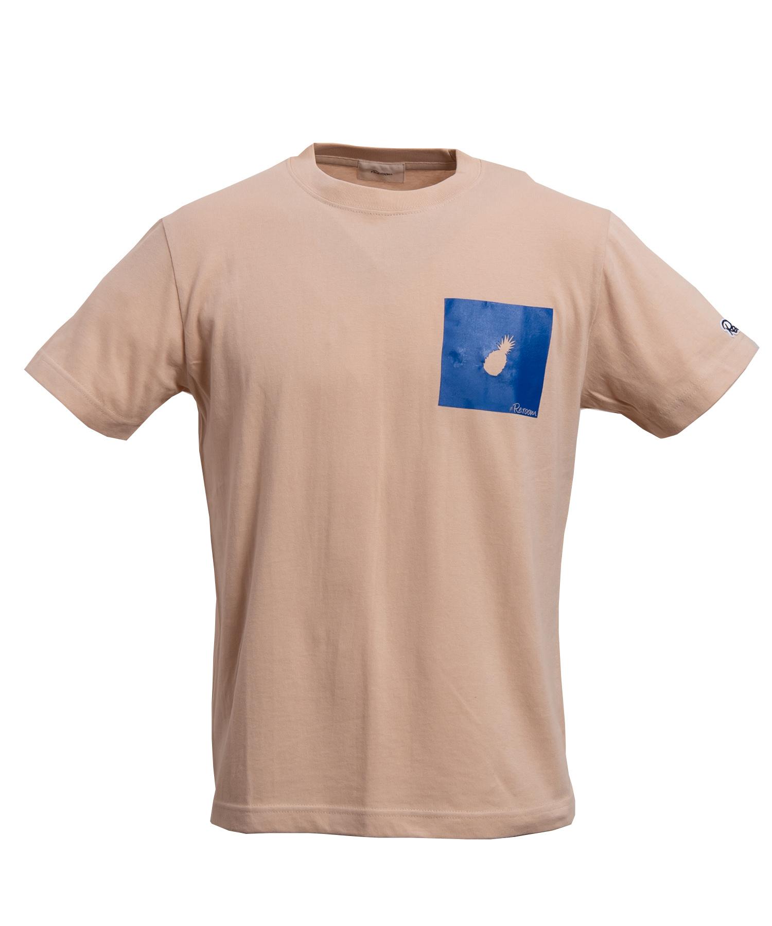 BOX ICON ONE POINT T-shirt[REC217]