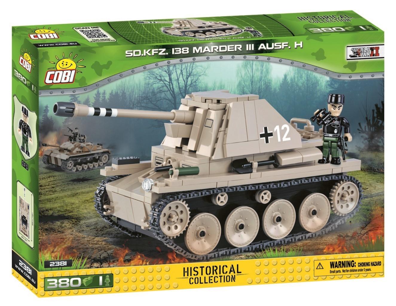 COBI #2381 マーダーIII 対戦車自走砲