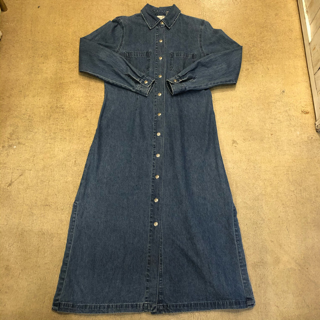 Fallscreek Denim Long Shirts Onepiece ¥6,700+tax
