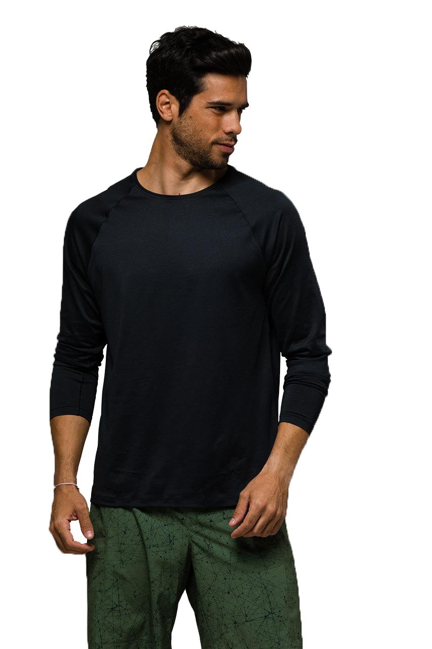 Raglan Long Sleeve Black