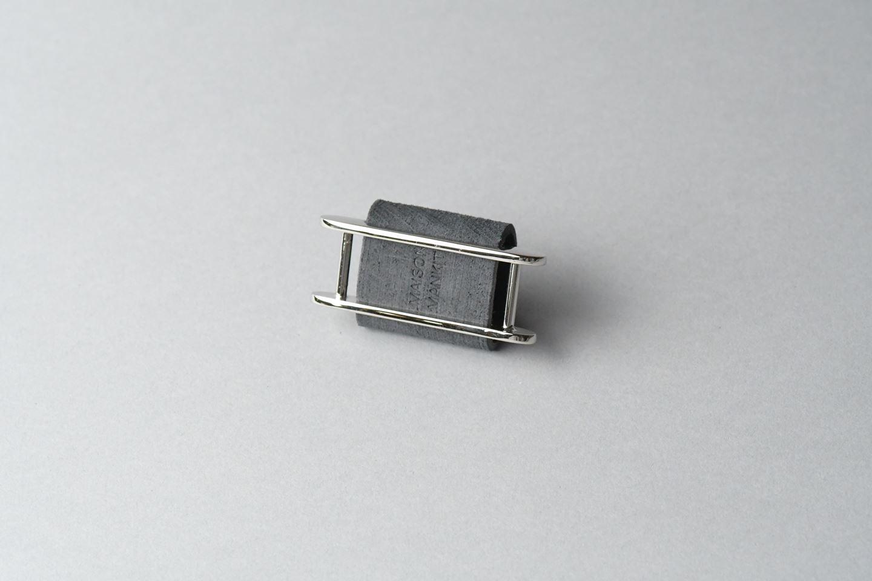 イヤホンコードホルダー □アボカドグリーン□ イタリアンレザー earphone cord holder - 画像3