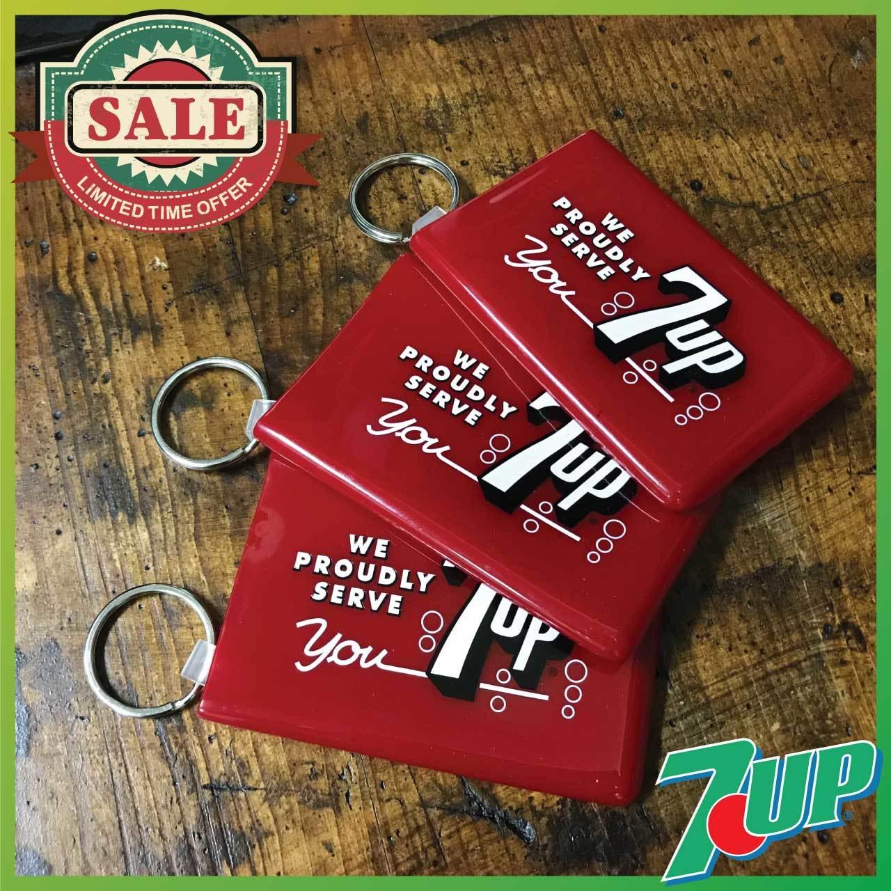 【SALE】7UP(セブンアップ) カードキーパー・カードケース・SUICA・クレジットカード入れ