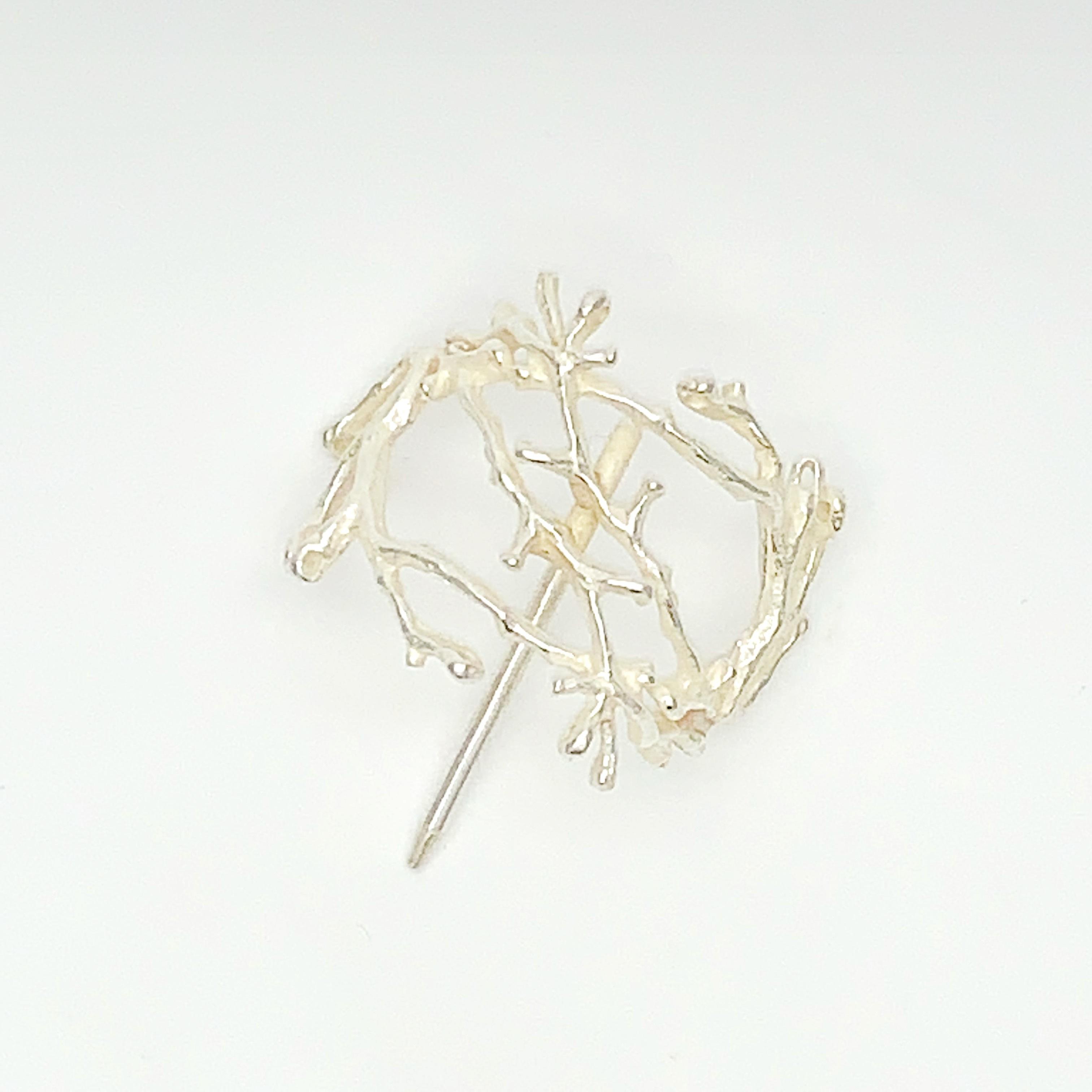 Cilsoie 枝珊瑚ポニーフックsilver