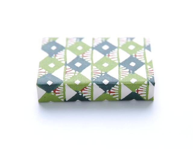 """京都型染アイシャドウ 抹茶 Kyoto Paper Box Eye Shadow """"Maccha"""" - 画像5"""