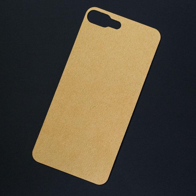 iPhone 7Plusバックプレート アルカンターラ シャンパン
