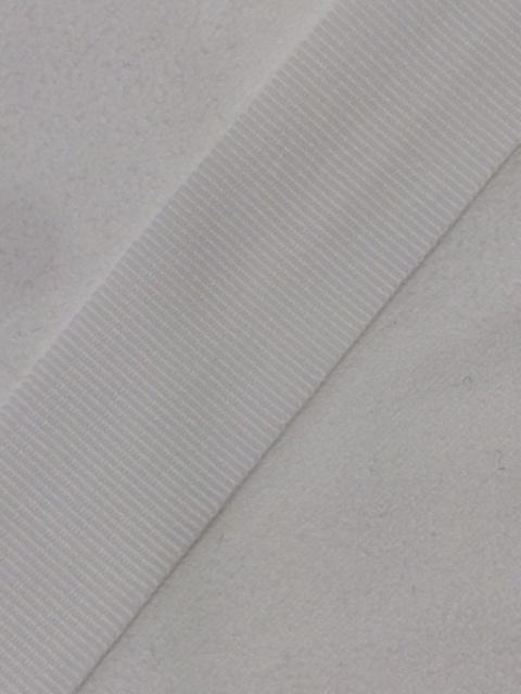 YKK グログランテープ 15mm 黒/白 10m