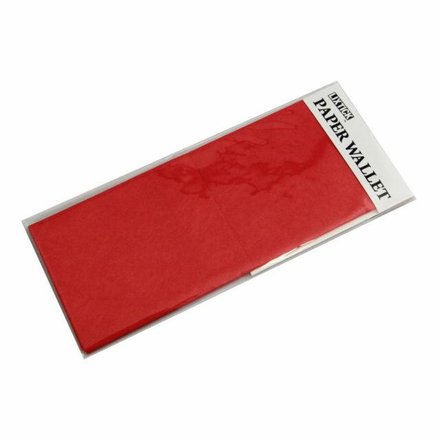 LIXTICK PAPER WALLET – COLORADO RED / LIXTICK