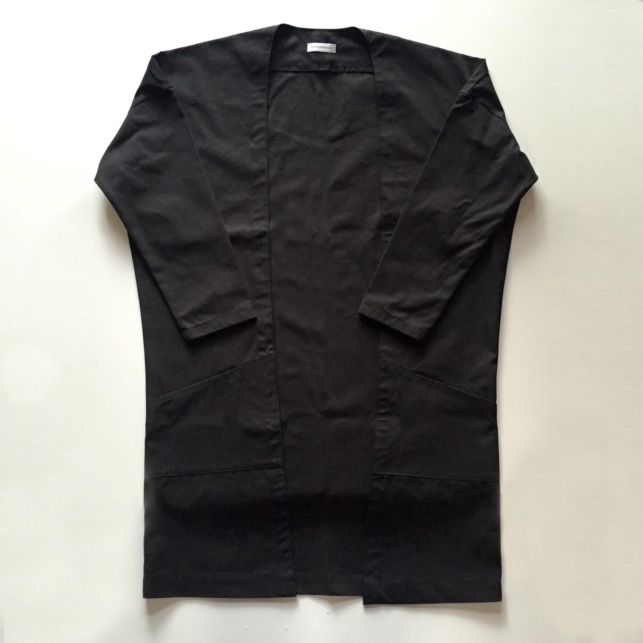 羽織 - long (BLACK)