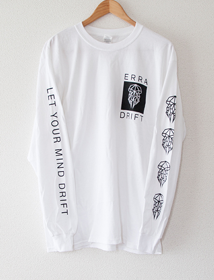 【ERRA】Let Your Mind Drift Long Sleeve (White)