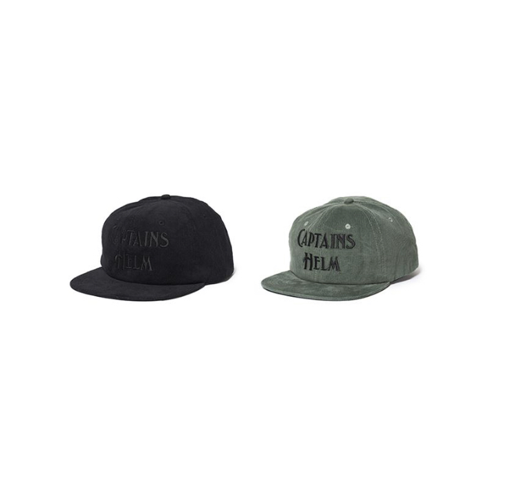 CAPTAINS HELM #Authentic Logo Corduroy Cap