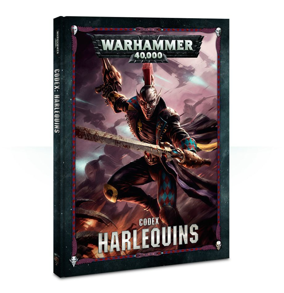 【20%OFF!】Codex: Harlequins(英語版・8版)