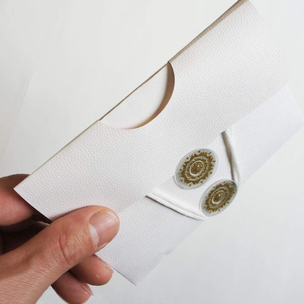 【白×花柄】マスクケース&マスクスタンド(小サイズ)MSGB01C