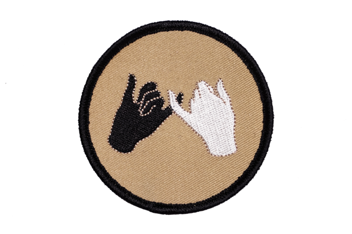 PINKY SWEAR Embroidered Patch