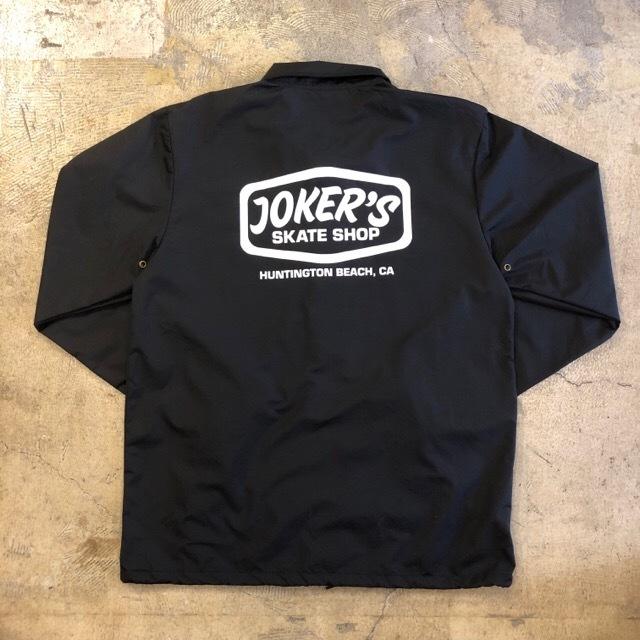 JOKER'S SKATE SHOP #Logo Coach Jacket