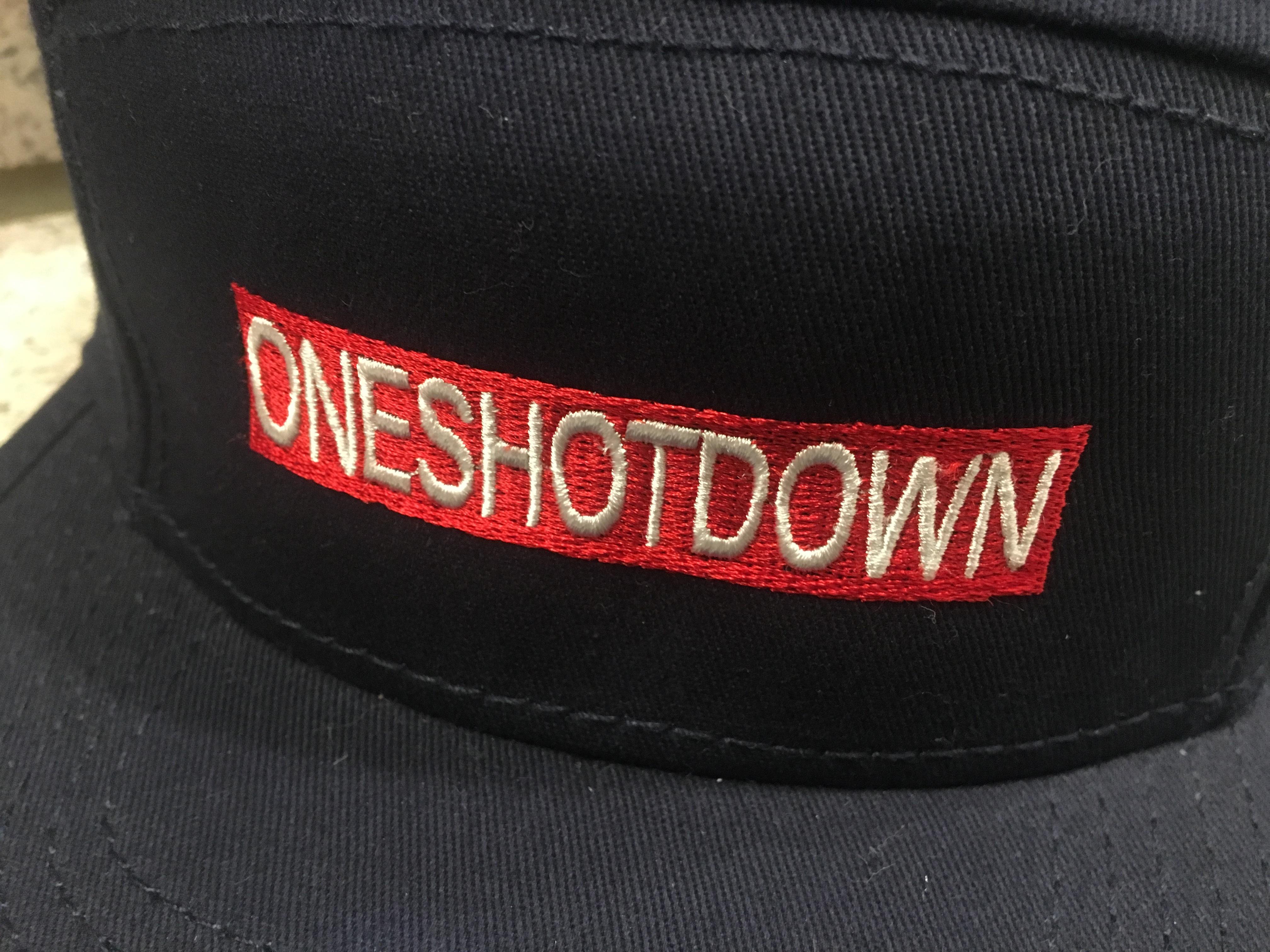 ONESHOTDOWN キャンプCAP - 画像5