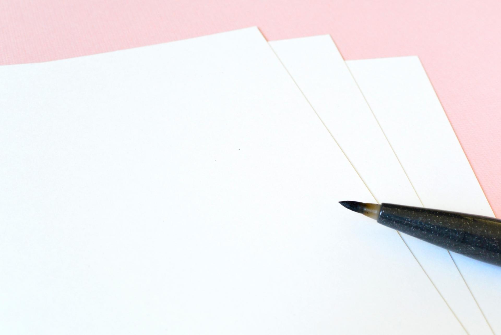 手書きハガキのお礼状や季節のご挨拶を代筆します