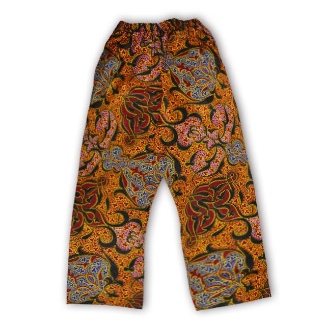 アフリカ柄ズボン(女性M・L)C